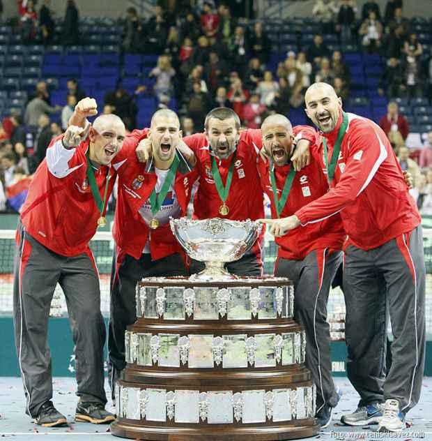 Serbia Vs. France, Davis Cup final