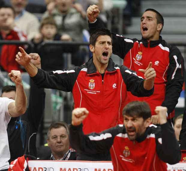 Davis Cup, Serbia Vs. USA