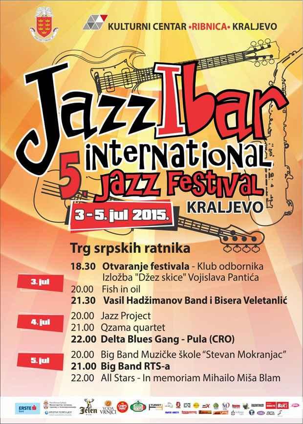 JazzIbar 15 plakat