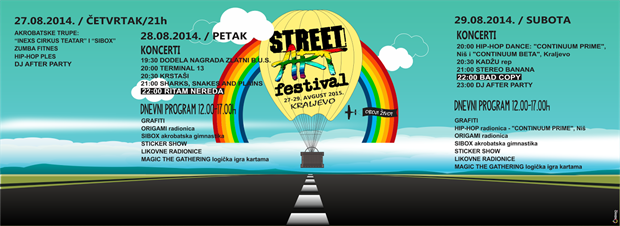 Street art festival 2015 2