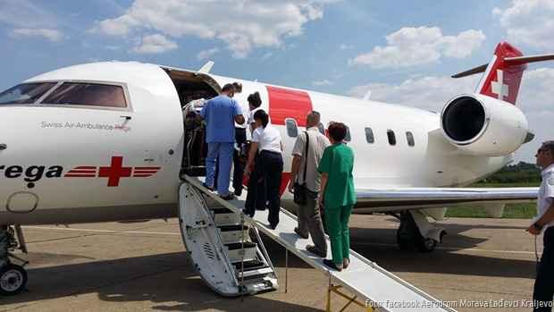 Morava avion abulanta 1