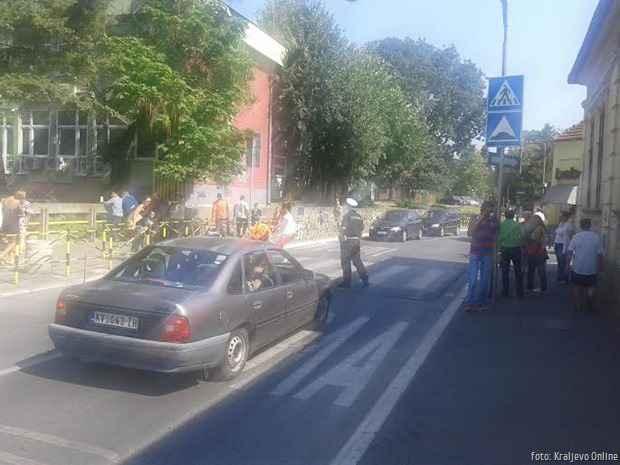 OŠ IV Kraljevački bataljon 01.09.2015 pešaki