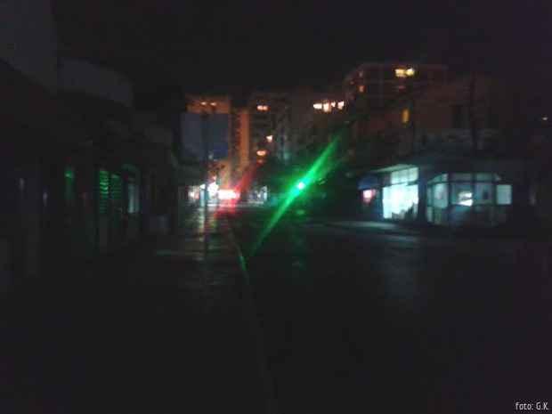 Beogradska ulica u mraku