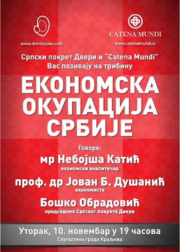 Ekonomska okupacija Srbije