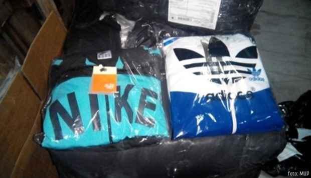 Nike i Adidas zaplena falsifikovane robe foto MUP