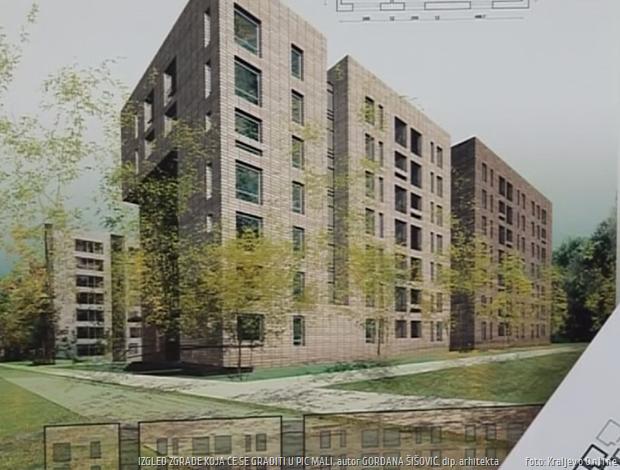 Urbana regeneracija izgled novog naselja 1