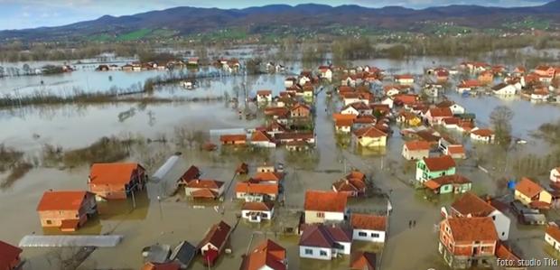 Grdica poplava Dronom 08,03,2016,