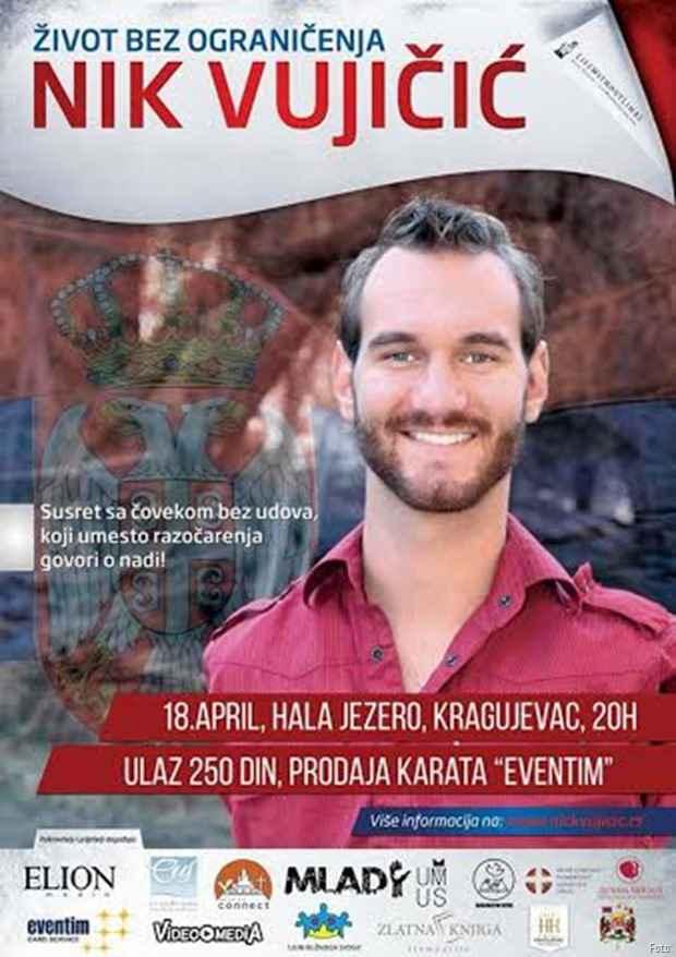 Nik Vujičić u KG