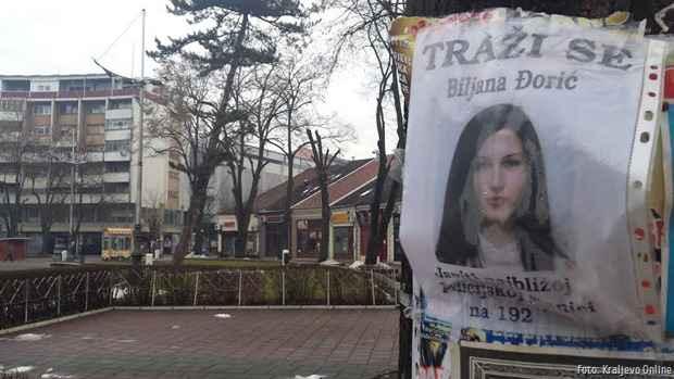 Biljana Đorić 2 traži se