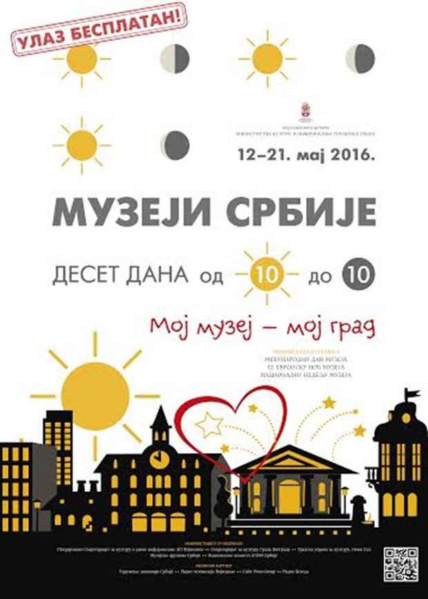 Muzeji Srbije od 10 do 10