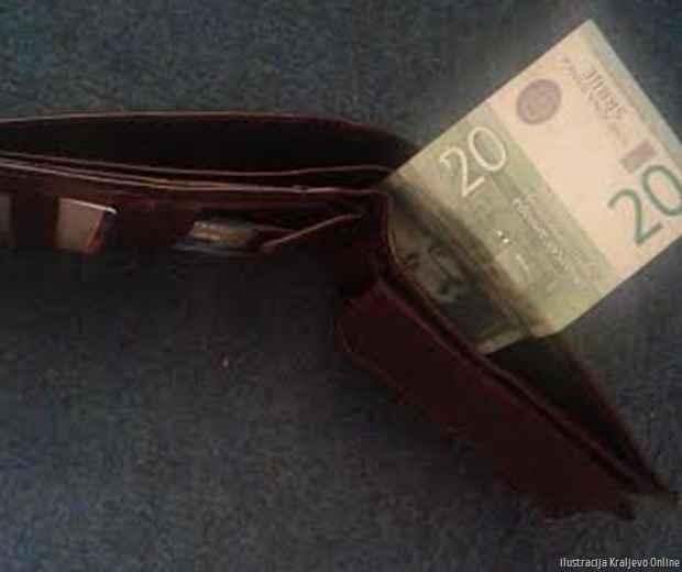 Novčanin prazan Kraljevo Online