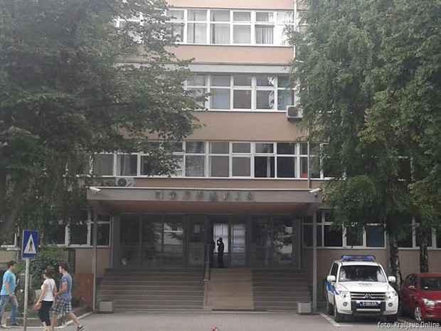 Policija zgrada Kraljevo jun 2015
