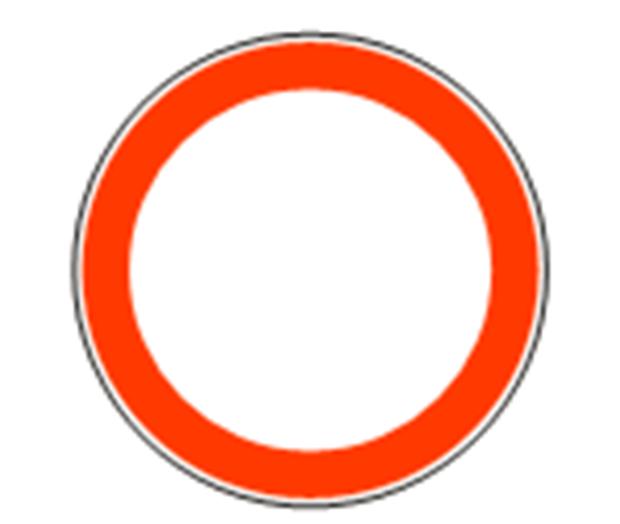 Zabranjen saobraćaj znak