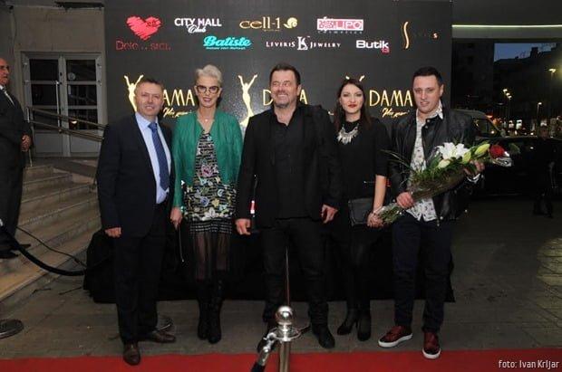 DAMA GODINE 2017 Tijana Dapčević Ksenija Milošević