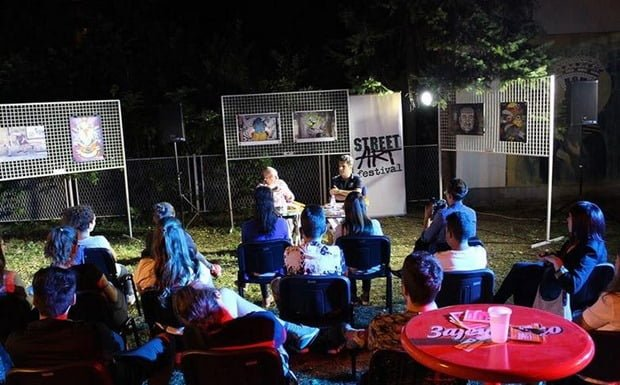 Street art festival 2017 promocija knjige
