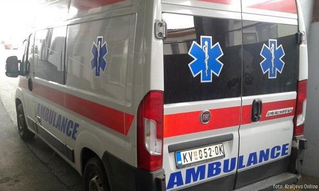 Hitna pomoć foto Kraljevo Online