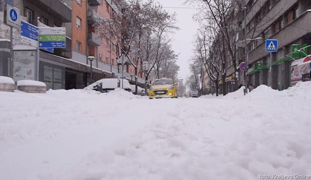 Kraljevo sneg 26012019 2