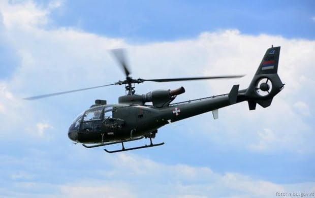 Helikopter gazela foto vs 1
