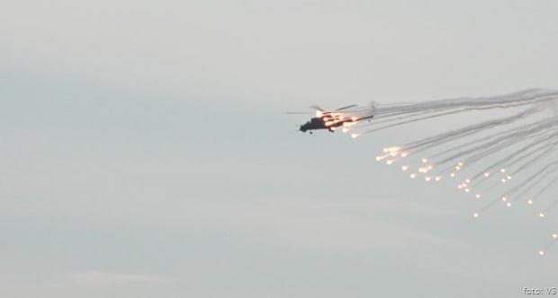 VS Helikopter na bojevom gađanju 24 sept 2020